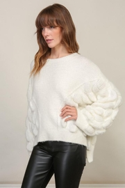 Lumiere Bubble Sleeve Sweater - Front cropped