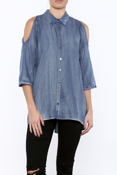 Shoptiques Product: Collared Denim Shirt