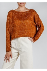 Lumiere Coloful Knit Sweater - Front full body