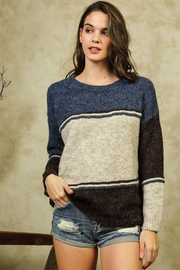 Lumiere Color Block Sweater - Product Mini Image