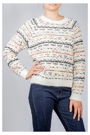 Lumiere Colorful Weave Sweater - Side cropped