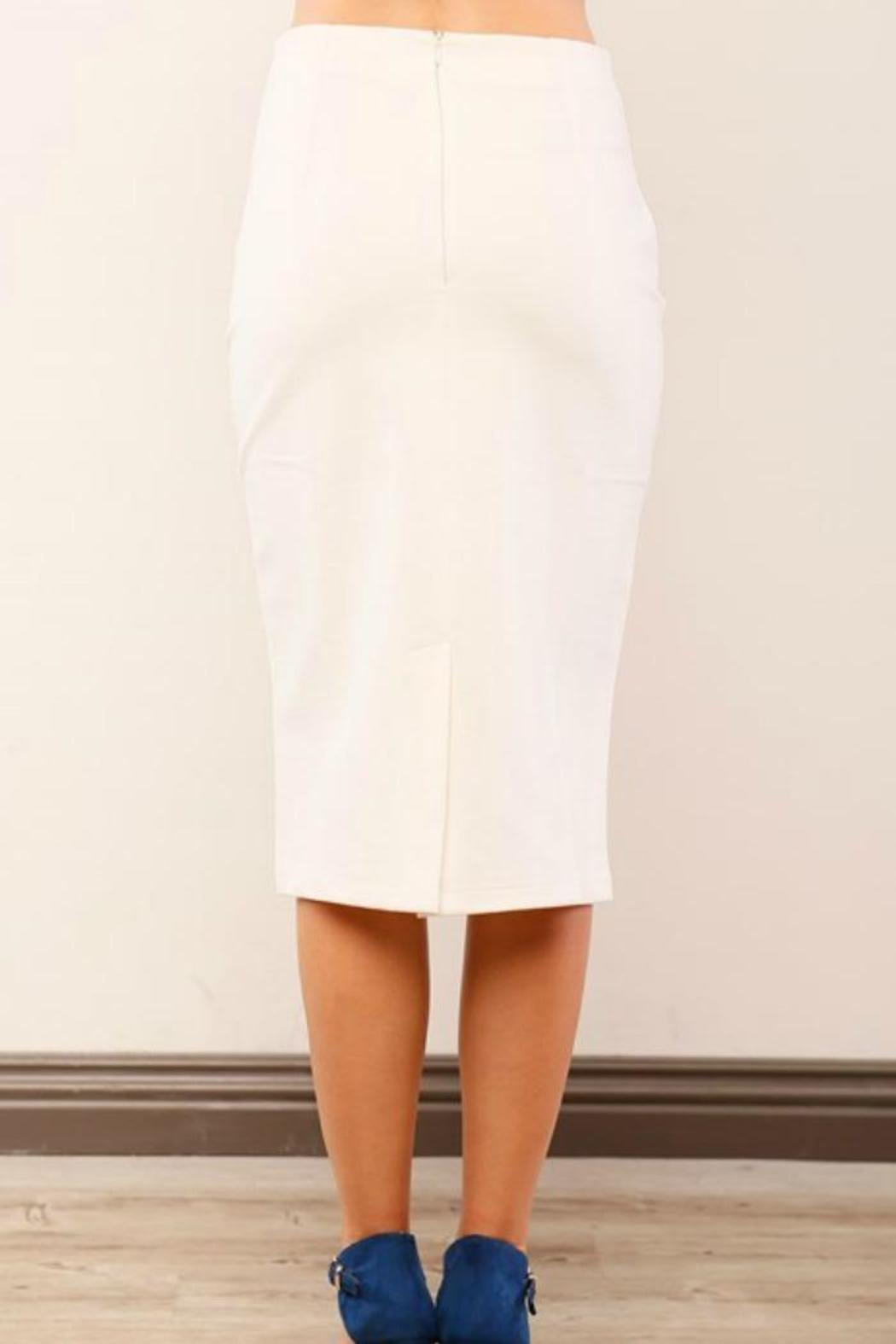 Lumiere Cream Pencil Skirt from Washington by Lika Love — Shoptiques