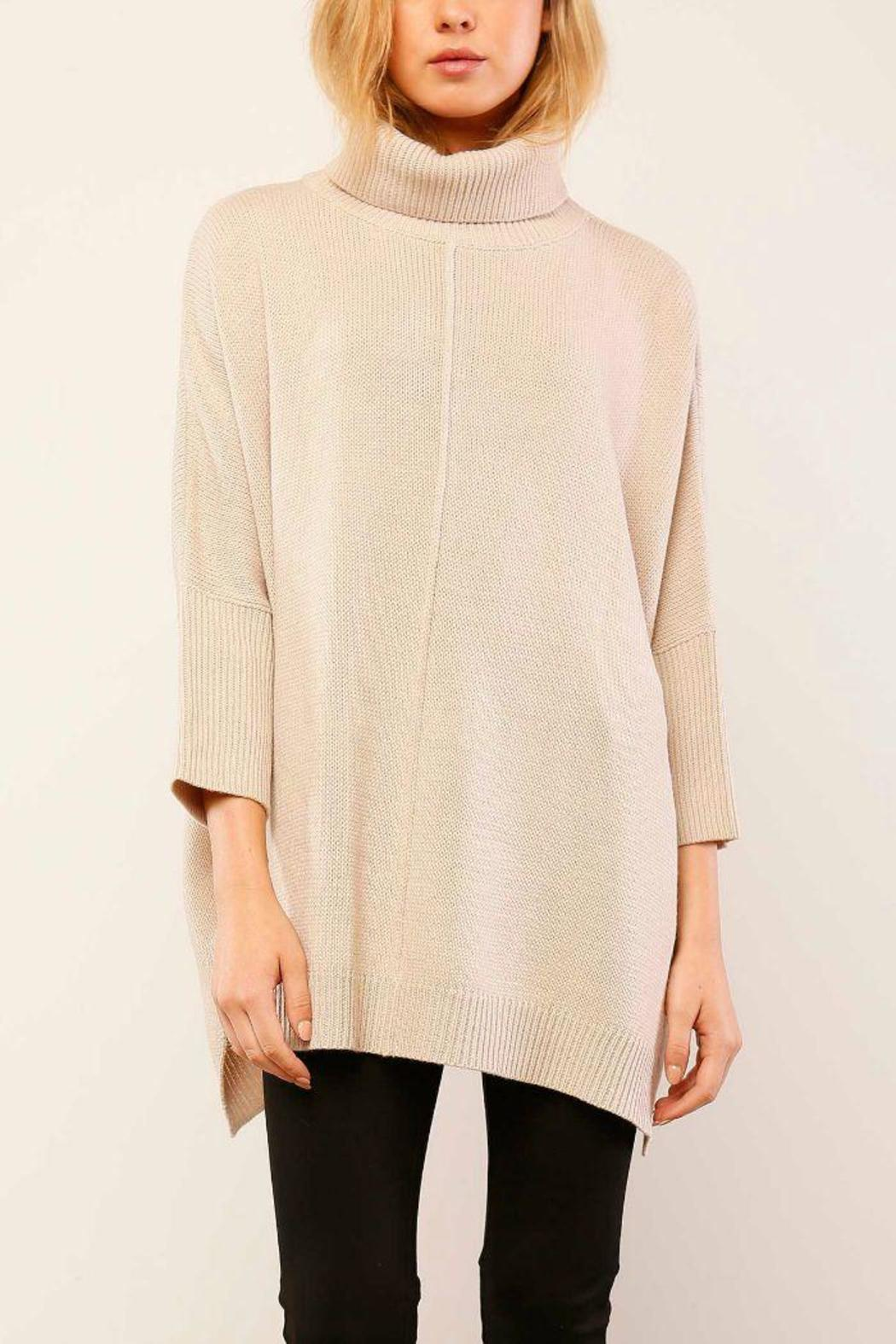 Lumiere Cream Turtleneck Sweater from Atlanta by GrayeStyle ...