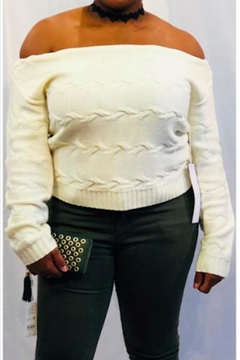 Lumiere Creamy Slouch Sweater - Product List Image