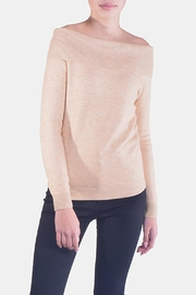 Lumiere Delicate Off-The-Sholder Sweater - Front full body