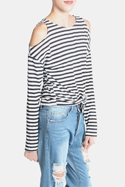 Lumiere Cold Shoulder Shirt - Side cropped