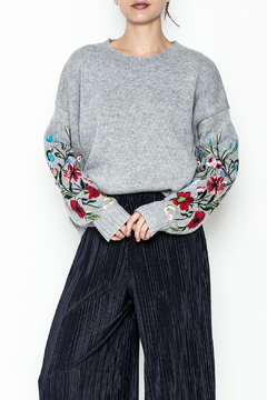 Lumiere Floral Sleeve Sweater - Product List Image