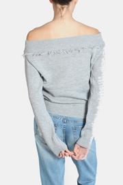 Lumiere Fringe Cropped Sweater - Other