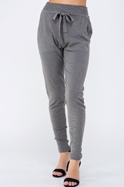 Lumiere Grey Slim Joggers - Product Mini Image