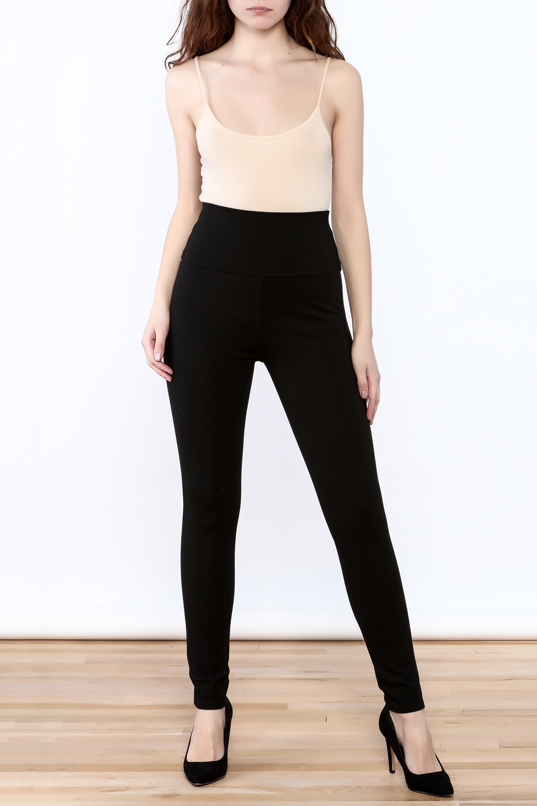 Lumiere High Waisted Leggings - Front Full Image