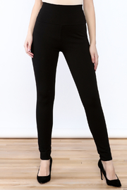 Lumiere Black High Waist Pants - Product Mini Image