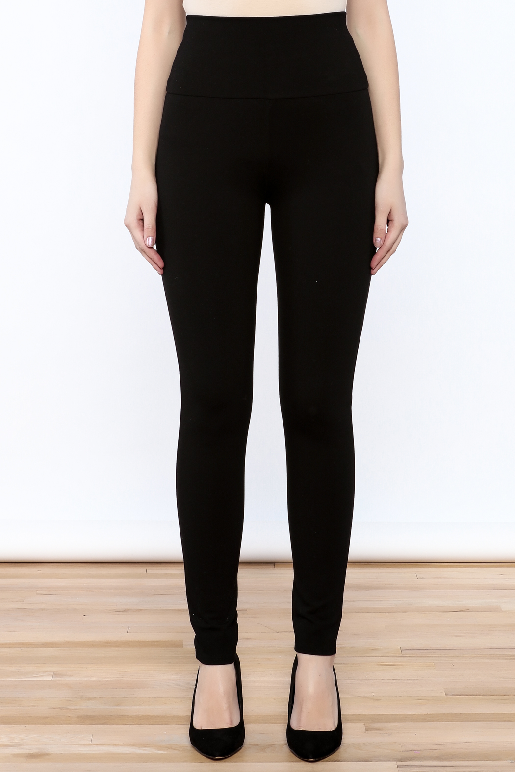 Lumiere High Waisted Leggings - Side Cropped Image