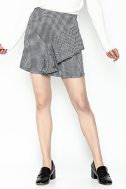 Lumiere Houndstooth Skirt - Product Mini Image
