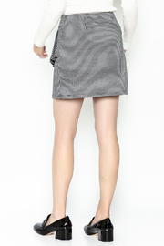 Lumiere Houndstooth Skirt - Back cropped