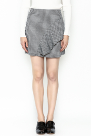 Lumiere Houndstooth Skirt - Front full body