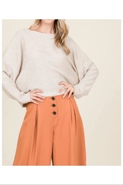 Lumiere Knit Sweater Top - Front cropped