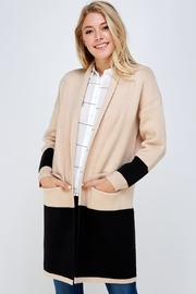 Lumiere Long Colorblock Cardigan - Product Mini Image