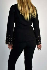Lumiere Lumier Cardigan Black - Front full body
