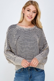 Lumiere Navy Stripe Sweater - Product Mini Image