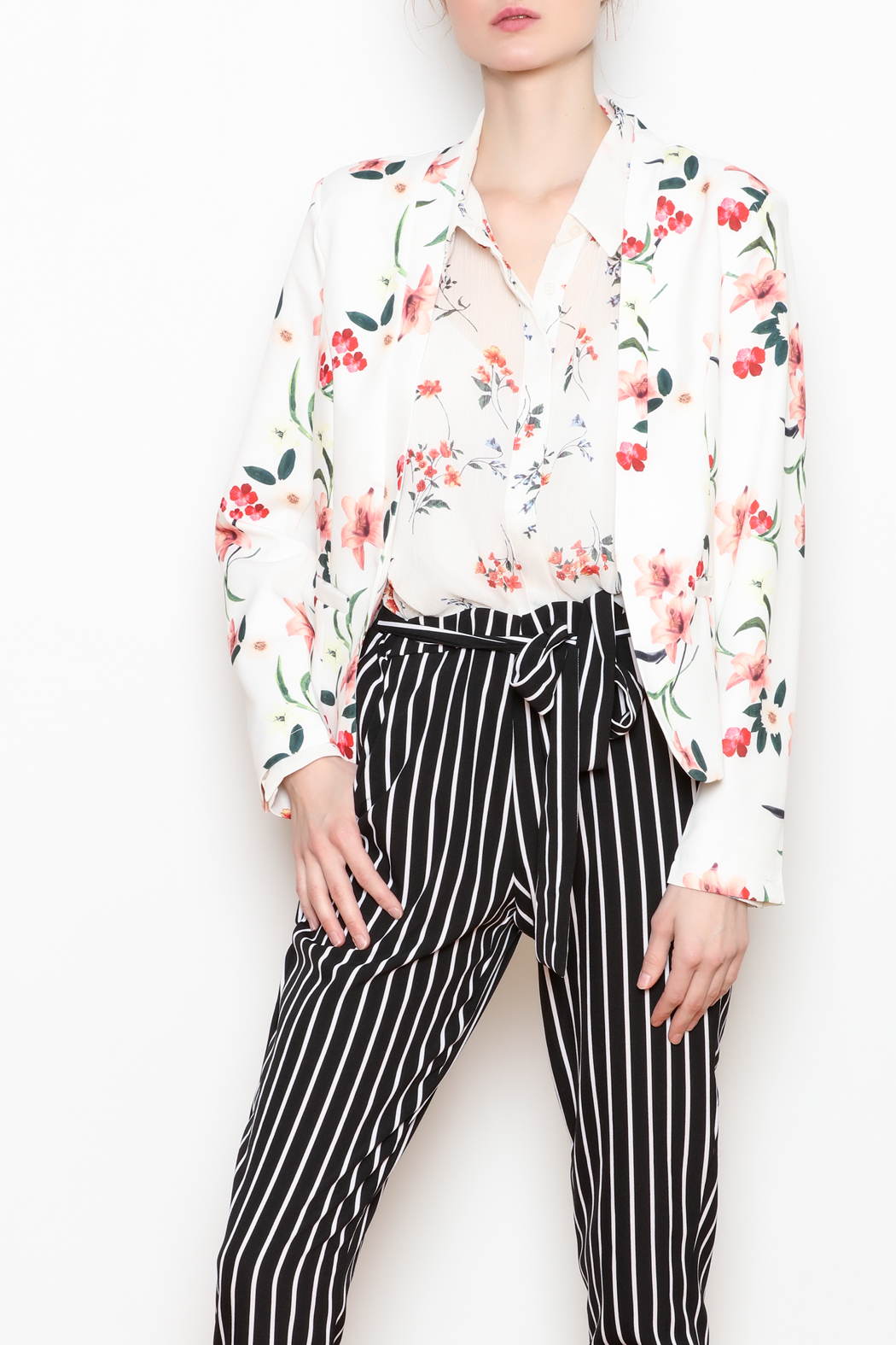 Lumiere Sheer Button-Down - Main Image