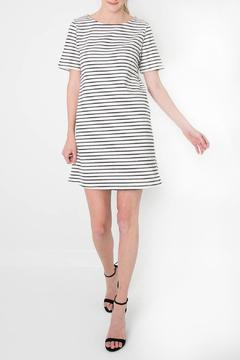 Shoptiques Product: Short-Sleeve Striped Dress