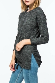 Lumiere Side Bow Sweater - Side cropped
