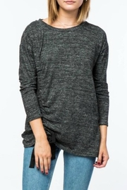 Lumiere Side Bow Sweater - Product Mini Image