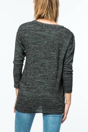 Lumiere Side Bow Sweater - Front full body