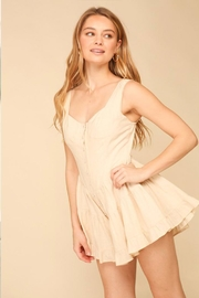 Lumiere Sleeveless Ruffle Romper - Product Mini Image