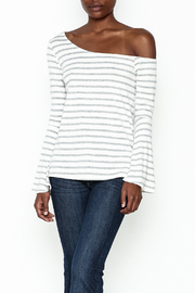 Lumiere Slouchy Shoulder Shirt - Product Mini Image