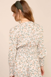Lumiere Smocking Detail Floral Top - Other