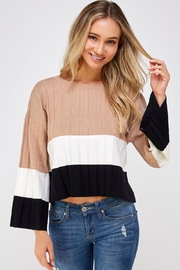 Lumiere Soft Colorblock Sweater - Product Mini Image