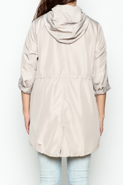 Lumiere Solid Anorak - Back cropped