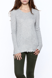 Lumiere Fringe Hem Sweater - Product Mini Image