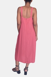 Lumiere Sweetheart Tie Front Dress - Side cropped