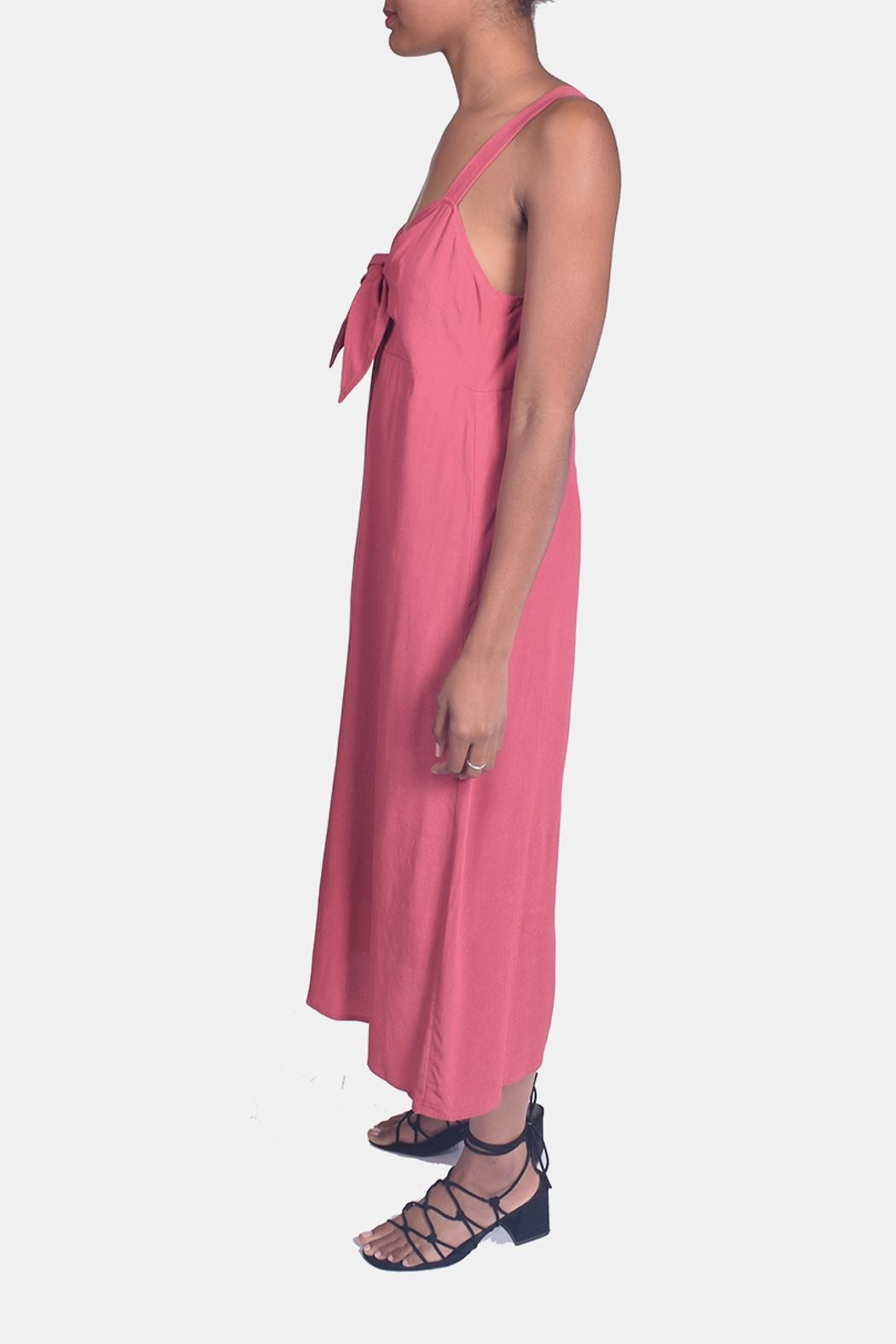 Lumiere Sweetheart Tie Front Dress - Front Full Image