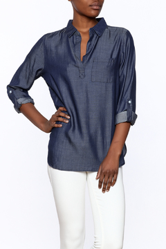 Lumiere Tencel Long Sleeve Top - Product List Image