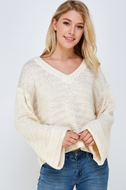 Lumiere Textured Knit Sweater - Product Mini Image