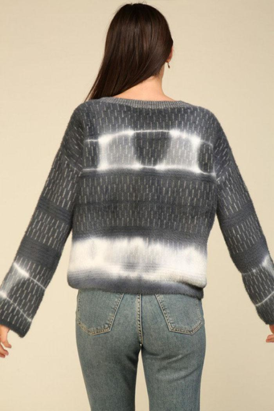 Lumiere Tie Dye Sweater - Front Full Image