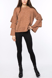 Lumiere Tiered Sleeve Sweater - Side cropped
