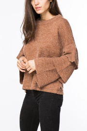 Lumiere Tiered Sleeve Sweater - Product Mini Image