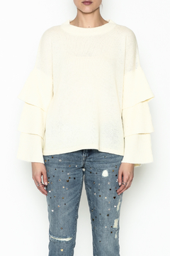Lumiere Tiered Sleeve Sweater - Product List Image