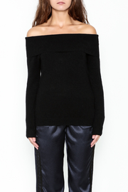 Lumiere Off The Shoulder Blouse - Front full body