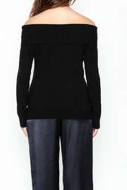 Lumiere Off The Shoulder Blouse - Back cropped