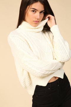 Lumiere Turtle Neck Sweater - Product List Image