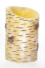 Luminara Painted Birch Pillar - Product Mini Image