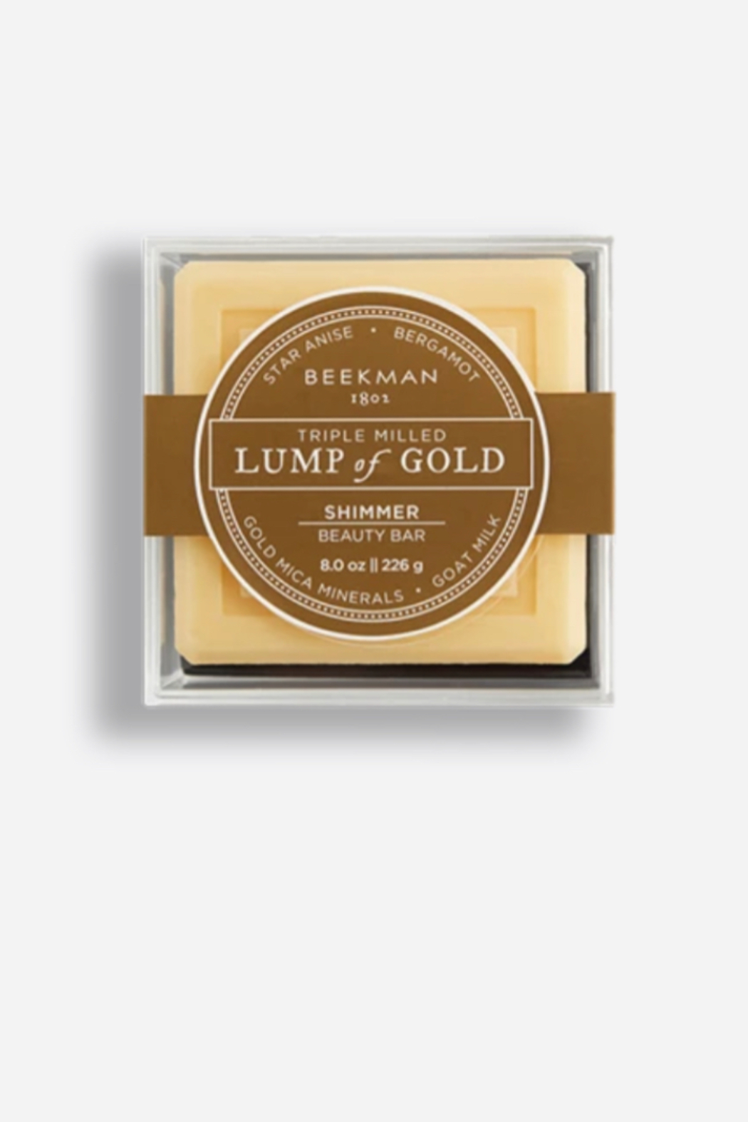 Beekman 1802 Lump of Gold Goat Milk Soap - Front Cropped Image
