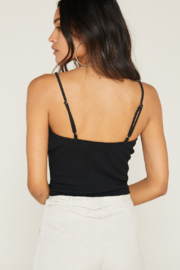 SAGE THE LABEL Luna Crop Top - Front full body