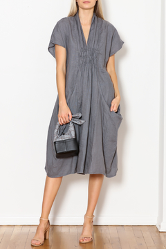 Shoptiques Product: Big-Pockets Linen Dress