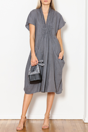 Luna Luz Big-Pockets Linen Dress - Product Mini Image